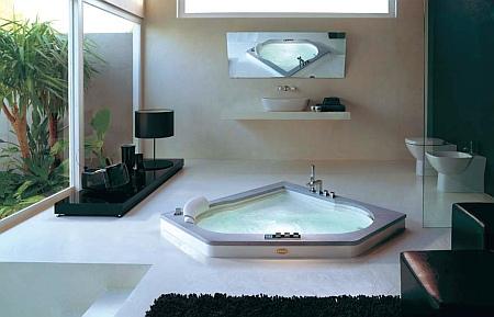 ванна Дизайнерская  Jacuzzi Aura 140