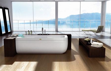 Дизайнерская ванна Jacuzzi Aquasoul 170 Top