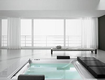 гидромассажная ванна Seaside, Teuco, Talocci design